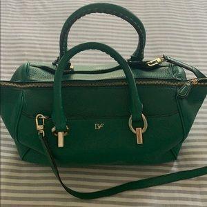 Diane vonFurstenberg cross body purse DVF